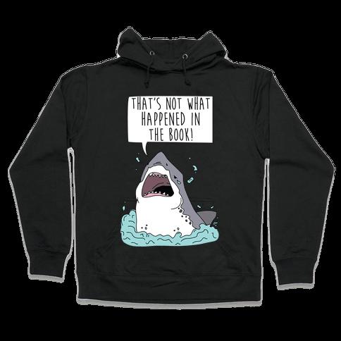 Book Shark Hooded Sweatshirt