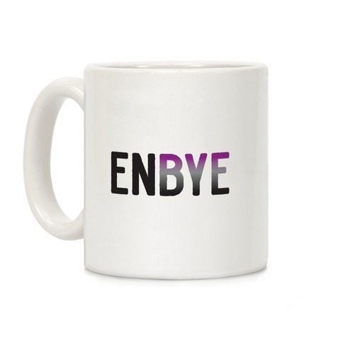 Enbye Asexual Non-binary Coffee Mug