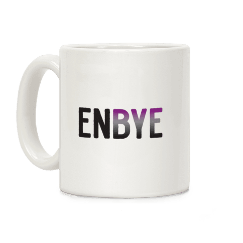 Enbye Asexual Non-binary Coffee Mug
