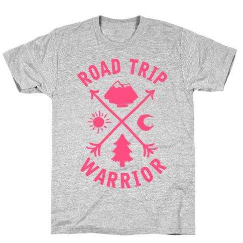 Road Trip Warrior (Pink) T-Shirt