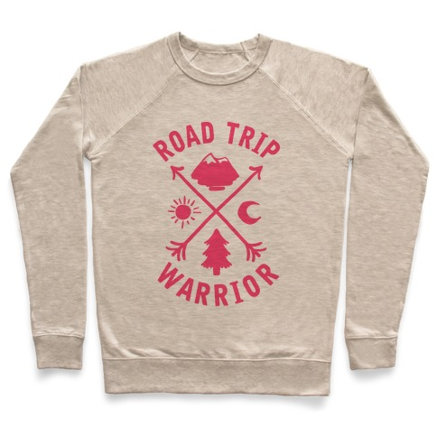 Road Trip Warrior (Pink) Pullover