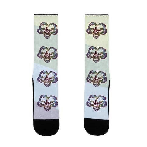 Polyamory Knot Sock