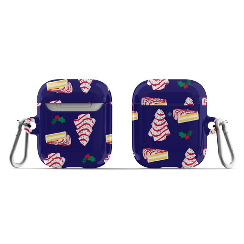 Holiday Tree Cake Pattern AirPod Case