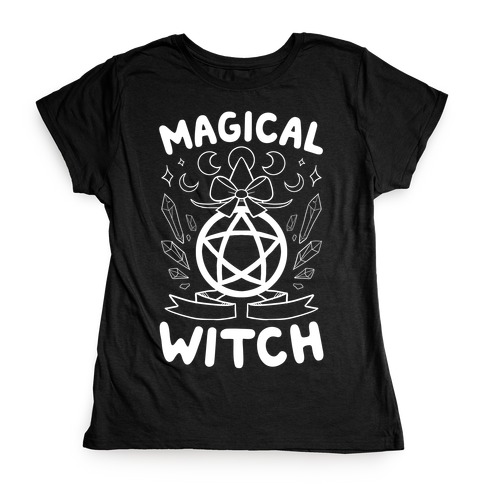 Magical Witch Womens T-Shirt
