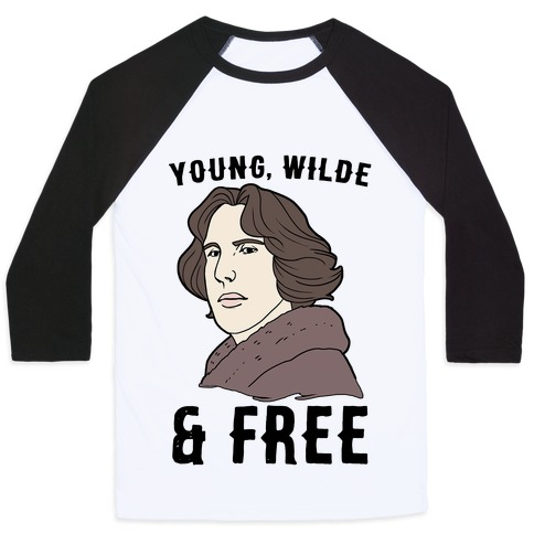 Young, Wilde and Free Baseball Tee