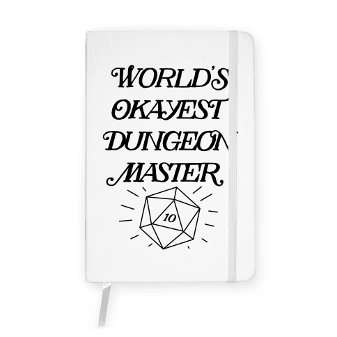 World's Okayest Dungeon Master Notebook