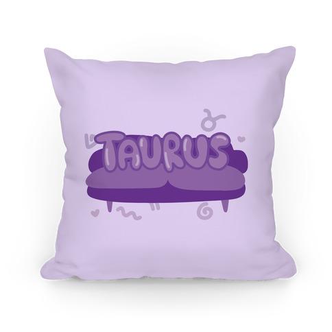 Taurus Chillin' Pillow
