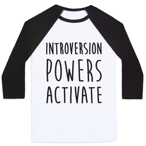 Introversion Powers Activate Baseball Tee