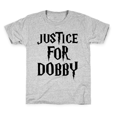 Justice For Dobby Parody Kids T-Shirt