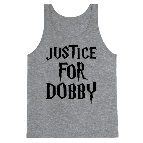 Justice For Dobby Parody Tank Top
