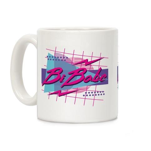 Bi Babe 80s Retro Coffee Mug