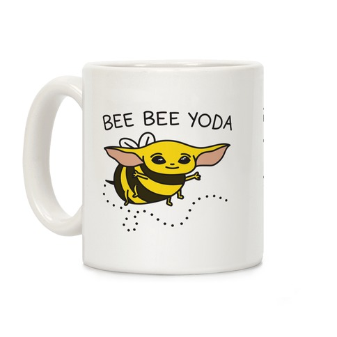 Bee Bee Yoda Coffee Mug