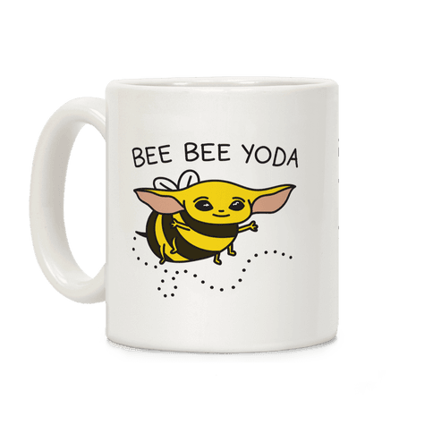 Bee Bee Yoda Coffee Mug