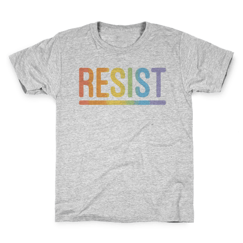 Rainbow Resist Kids T-Shirt