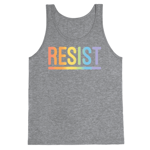 Rainbow Resist Tank Top