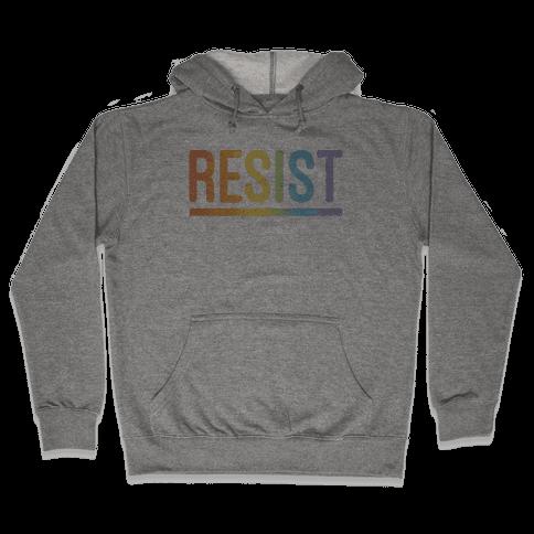 Rainbow Resist Hooded Sweatshirt