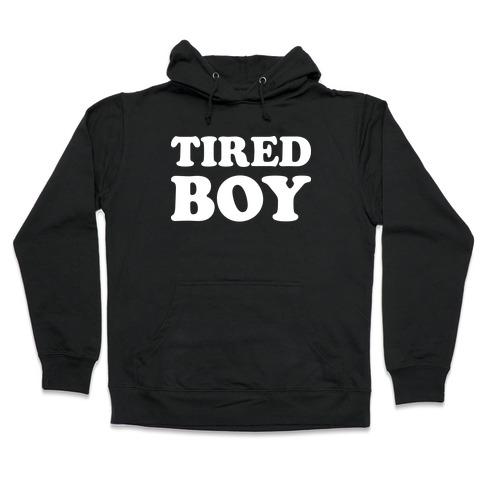 Tired Boy Hooded Sweatshirt