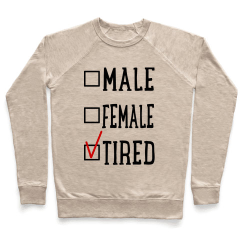 My Identity Is Tired Pullover