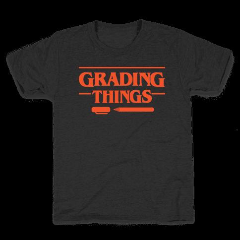 Grading Things Parody Kids T-Shirt