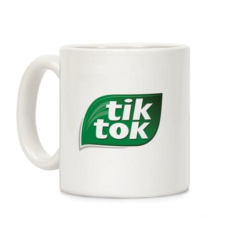 TikTok Tic Tac Parody Logo Coffee Mug