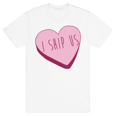 I Ship Us Mens T-Shirt