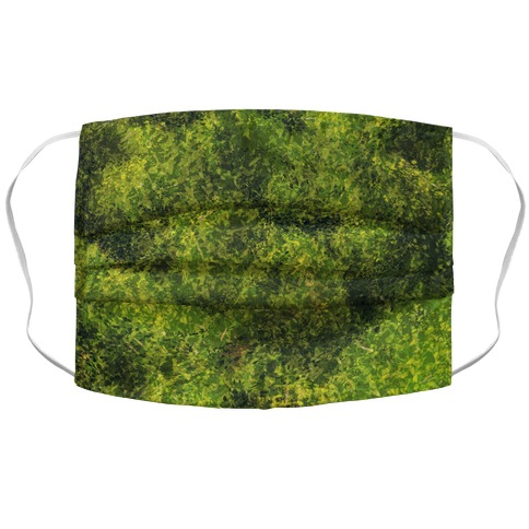 Artistic Moss Accordion Face Mask