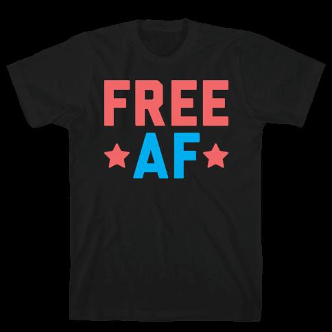Free AF Mens T-Shirt