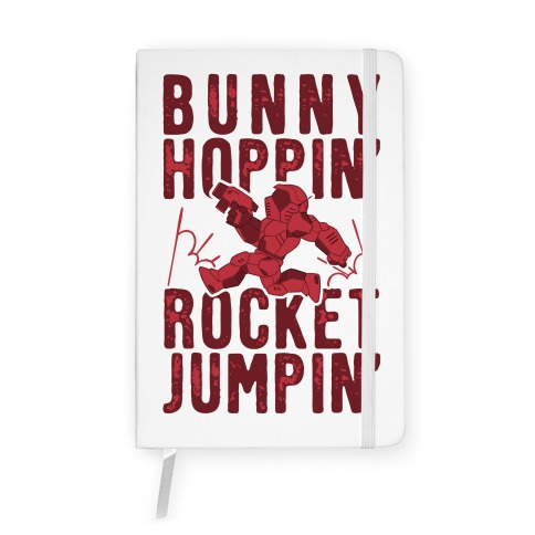 Bunny Hoppin' & Rocket Jumpin' Notebook