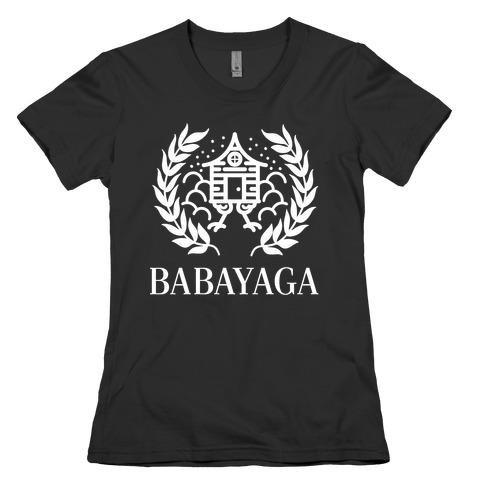 Baba Yaga Balenciaga Parody Womens T-Shirt