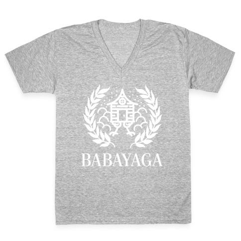Baba Yaga Balenciaga Parody V-Neck Tee Shirt