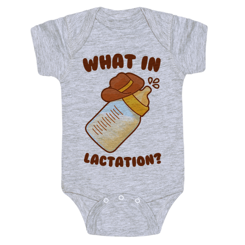 What in Lactation? Baby Onesy