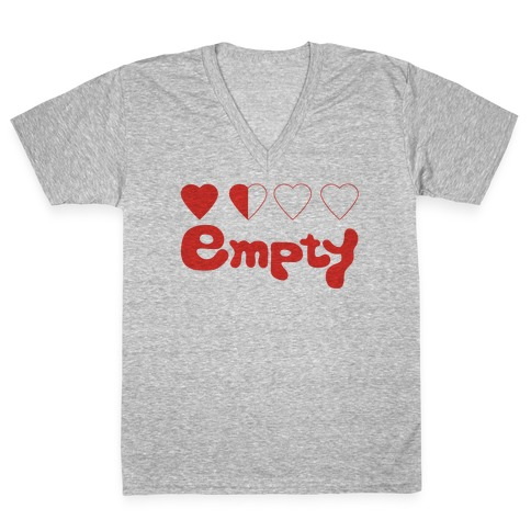 Empty V-Neck Tee Shirt