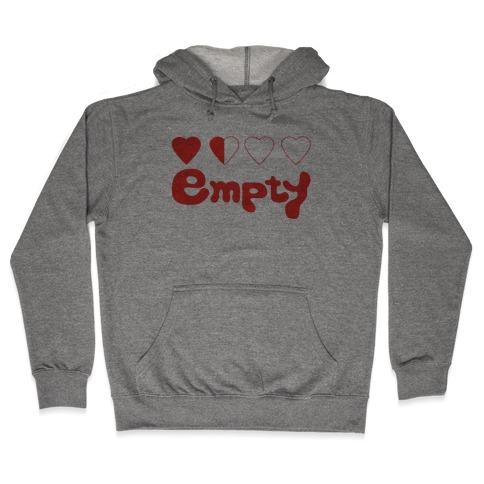 Empty Hooded Sweatshirt