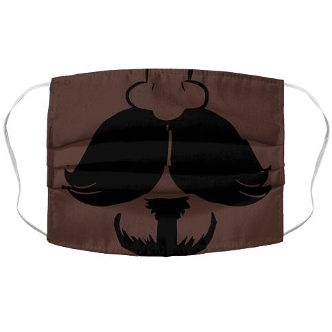 Mustache Face Mask