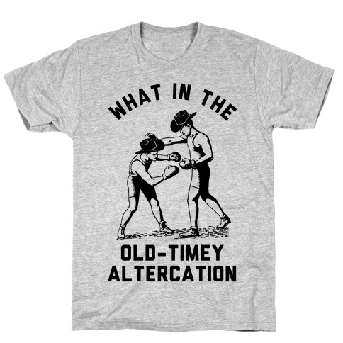 Old-Timey Altercation Mens T-Shirt