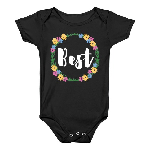 Best Buds (1 of 2 pair) Baby Onesy