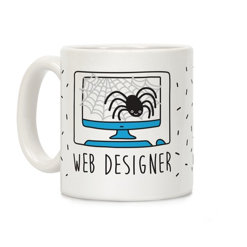 Web Designer Spider Coffee Mug