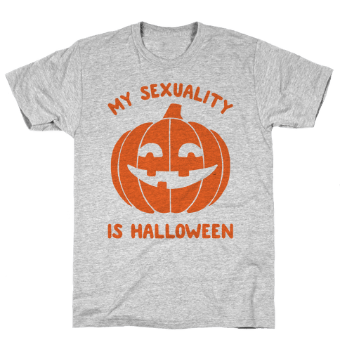 My Sexuality Is Halloween Mens T-Shirt
