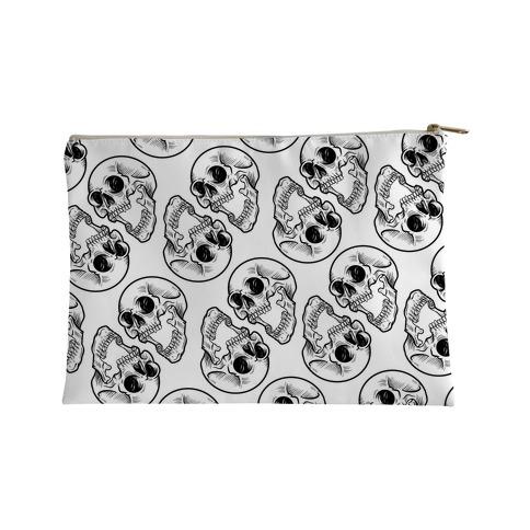 Skull Pattern  Accessory Bag