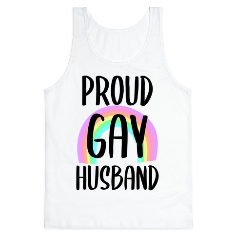 Proud Gay Husband Tank Top