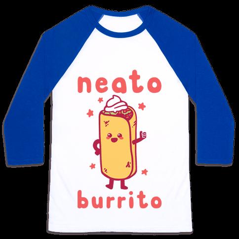Neato Burrito Baseball Tee