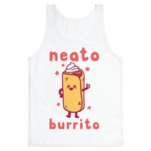 Neato Burrito Tank Top