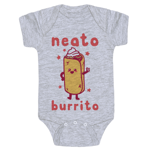 Neato Burrito Baby Onesy