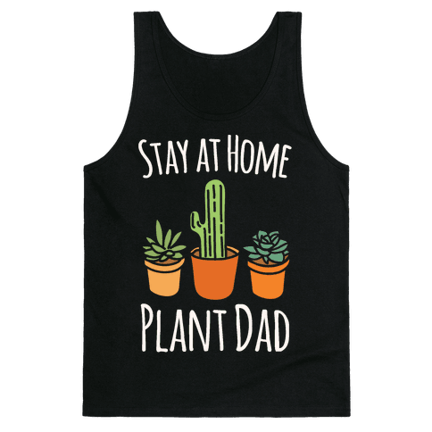 Stay At Home Plant Dad White Print