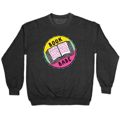 Book Babe Pop Culture Merit Badge Pullover
