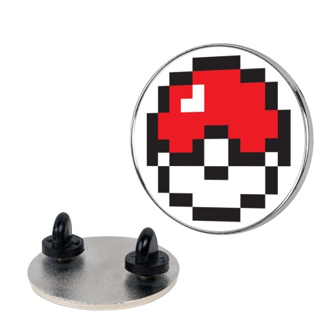 Pixel Pokball pin