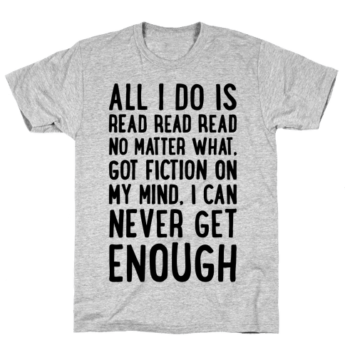 All I Do Is Read Read Read No Matter What Parody Mens T-Shirt