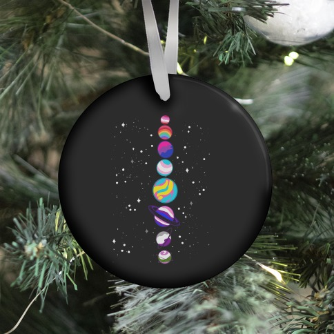 LGBTQ+ Planets Ornament