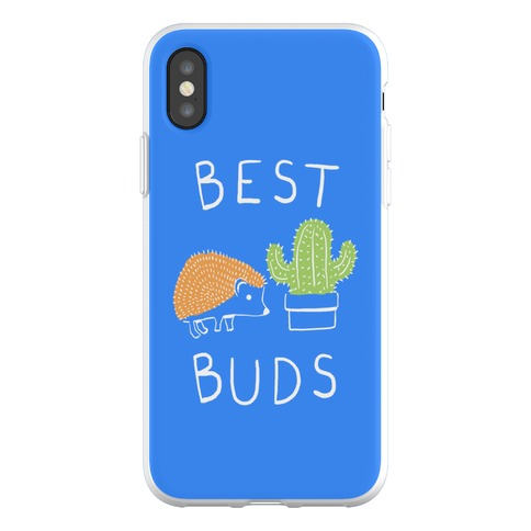 Best Buds Hedgehog Cactus Phone Flexi-Case