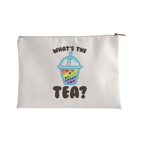 What's The Tea Bubble Tea Accessory Bag